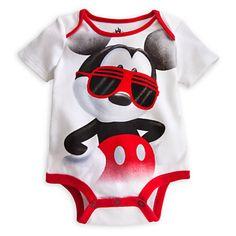 Mickey Mouse Disney Cuddly Bodysuit for Baby | Bodysuits | Disney Store