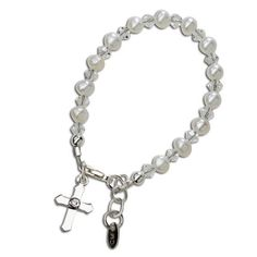 Cherished Moments Grace Sterling Silver Infant Bracelet
