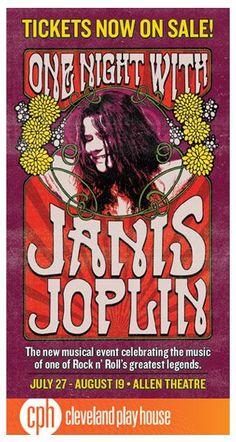 One Night With Janis Joplin Janis Joplin, Rock N Roll, Pop Rock, Rock Posters, Band Posters, Vintage Concert Posters, Vintage Posters, Rock Vintage, Hard Rock
