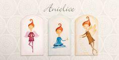 Anielice - inspirujące anioły opiekunki, dekoracja pokoju dziecięcego