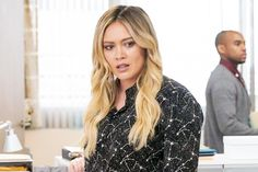 Hilary Duff talks the 'Younger' season finale: 'That was like so f---ed up! Younger Cast, Miriam Shor, Charles Michael Davis, Sutton Foster, Social Stigma, Fall Shorts, Bad Romance, Hilary Duff, Losing Her