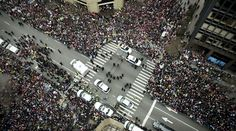 It's not just DC. Big crowds from Boston to Denver are supporting women's rights. - Jan 21, 2017 -