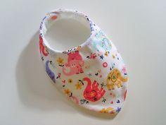 Bavoir bandana anti bavouille de bébé, motif éléphants : Mode Bébé par zekoualamachine