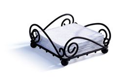 Get the Spectrum 43910 Scroll Flat Napkin Holder securely online at charingskitchen.com today.