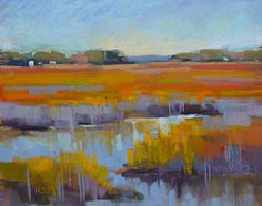 Image result for Abstract marsh paintings