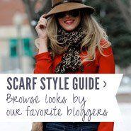 How to Tie a Scarf: Boho Loop Tie   Scarves.net
