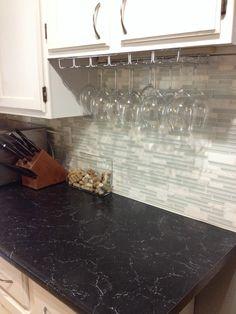 Granite Countertops Through Costco : Costco Casablanca White $24.99 5 square foot tiles Kitchen ideas ...