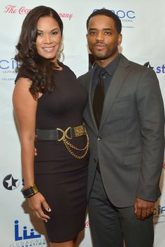 2015 - Larenz Tate and Wife Tomasina's Sweet Love Through The Years