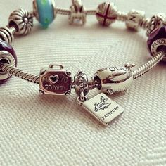 c97a5490c >>>Visit>> Create a Travel Pandora charm bracelet to keep all of your  unforgettable moments from Summer 2014 close by! PANDORA www.