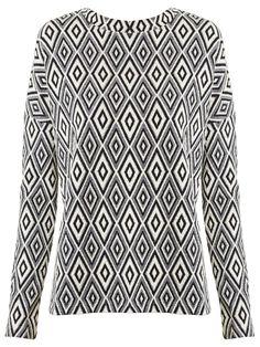 Camiseta Feminina Arruda - A. Niemeyer - Branco e Preto - Shop2gether