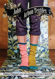 Alpaca Socks, Clothing and Household Textiles by John Arbon Textiles