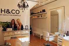 H & Co. hair salon on Portland St., just off of King West, run by Hayley Bloomfield (83 Portland Street)