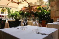 Pranzo d'estate all'aperto in Piazzetta Pescheria #alcristo #verona