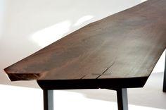 Walnut Desk (detail)