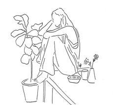 drawings drawing doodle line indie easy minimalist simple maryam tighter know