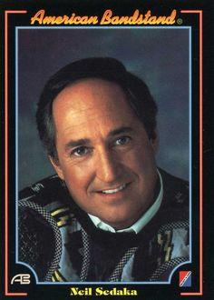 RARE 1993 COLLECT-A-CARD DICK CLARK AMERICAN BANDSTAND NEIL SEDAKA #18 MINT