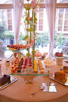 High Tea at the Ritz, Paris