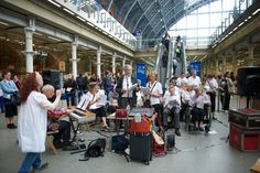 St Pancras with Sing For Joy Bloomsbury