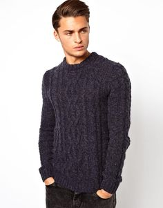 ASOS Cable Sweater | chunky knit sweater | wantering | love