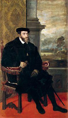 Keizer Karel V (Gent, 24 februari 1500 – Cuacos de Yuste, Spanje, 21 september 1558), voor zijn mondigverklaring Karel van Luxemburg geheten, uit het Huis Habsburg, was sinds 1506 landsheer van uiteindelijk (1543) alle Nederlandse gewesten, van 1516 tot 1556 als Karel I koning van Spanje en van 1519 tot 1556 als Karel V Rooms-Duitse keizer. In Vlaanderen staat hij algemeen bekend als keizer Karel, in Nederland als Karel V.