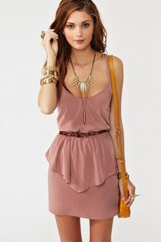 Cute Peplum Dress for Women Trends 2012 | Fashion World 2012 | Fashion Week and Fashion Trends