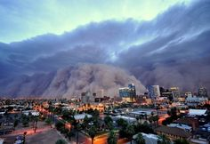Nature Pictures, Cool Pictures, Downtown Phoenix, Dust Storm, Arizona Usa, Costa Rica Travel, 10 Picture, South America Travel, France