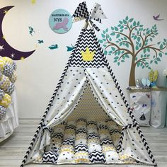 Super Sewing Ideas For Bedroom Playrooms Ideas Kids Tents, Teepee Kids, Teepees, Sewing For Kids, Diy For Kids, Crafts For Kids, Sewing Ideas, Boy Toddler Bedroom, Kids Bedroom