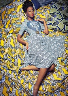Prints and photography - Lena Hoschek SS 2015