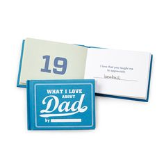 What I Love About Dad By Me Book | personalized book, dad | UncommonGoods