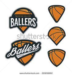 Basketball championship logo set | Sport logo | Pinterest | Logos ...