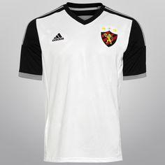 Camisa Adidas Sport Recife II 14/15 s/nº - Branco+Preto