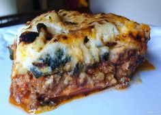 Sweet Potato Lasagna  @Healthilinguist
