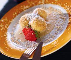 Túrógombóc fahéjmártással Pancakes, Oatmeal, Paleo, Low Carb, Fitt, Breakfast, The Oatmeal, Morning Coffee, Crepes