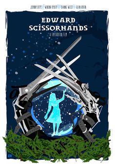 Edward Scissorhands by Cutestreak Designs