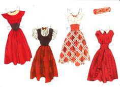 Store Marie paper doll (4 of 4) / Gerda Vinding, Danish artist, 1921-1987 | Kathy Pack | Picasa Web Albums