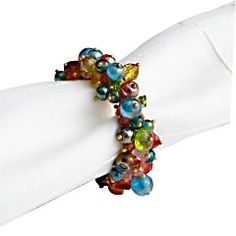 These napkin rings could be used for so much more than napkins!