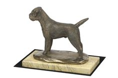 Made of cold cast bronze. Border Terrier, Terrier Dogs, Marble, It Cast, Bronze, Statue, Artist, Crafts, Etsy