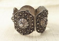Antique Middle Eastern Sterling Filigree by MindiLynJewelry