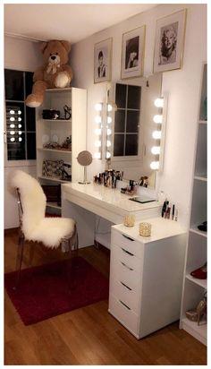 Dream Rooms, Dream Bedroom, Cute Room Decor, Cute Room Ideas, Room Ideas Bedroom, Diy Bedroom, Bedroom Small, Stylish Bedroom, Closet Bedroom