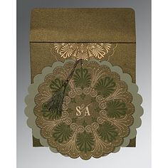 Give your wedding a special feel with our exclusive Green, Shimmer Paper, Islamic Wedding Cards - Muslim Wedding Cards, Muslim Wedding Invitations, Indian Wedding Cards, Wedding Invitation Design, Wedding Stationery, Invitation Ideas, Persian Wedding, Wedding Planning, Wedding Ideas