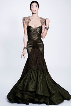 Zac Posen possible wedding attire.  i would love to get married in all black. favorite color.