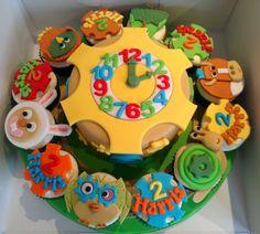 Tickety Toc - by caketindelights @ CakesDecor.com - cake decorating website