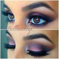 Gorgeous eye makeup! Wish it had a step by step application video