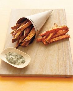 """A healthy redo of French fries, this popular """"vegetable"""" curbs the fat and salt but keeps the crunch."""