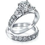 Bling Jewelry Forever In Love Ring