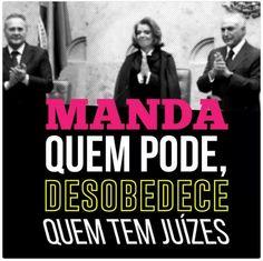 CRIEM VERGONHA NA CARA, O PAÍS QUER JUSTIÇA ANTES DE QUALQUER PREPARAÇÃO PARA MAIS ROUBO!!!  #STF