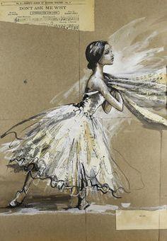 "Saatchi Art Artist Sara Riches; Painting, ""Finis"" #art"