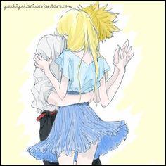 Fairy Tail (~request~) by YuzukiYuukari. Luxus or Stinglu ?