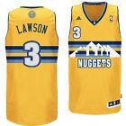 For Sale - NWT Denver Nuggets TY Lawson #3 Alternate Swingman Men Adult Jersey Gold Yellow - http://sprtz.us/NuggetsEBay