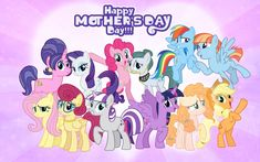 My Little Pony Poster, My Little Pony List, My Little Pony Drawing, My Little Pony Pictures, My Little Pony Friendship, Manado, Mothers Day Drawings, My Little Pony Wallpaper, Little Poney
